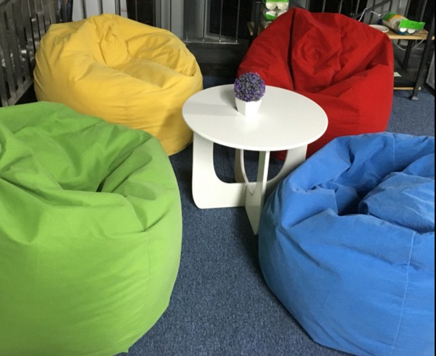 achetez en gros sac de haricots pouf rond en ligne des grossistes sac de haricots pouf rond. Black Bedroom Furniture Sets. Home Design Ideas