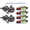 4x 2204 2300KV Brushelss Motor for QAV 250 210 180 220 Quadcopter 4xRacerstar RS20A Lite 20A