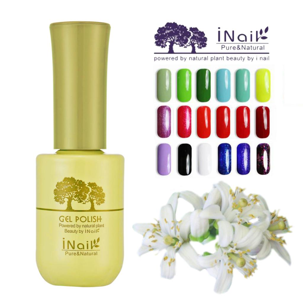 6pcs Inail Neroli Aroma Gel Polish 15ml 78 colors for choice Free shipping