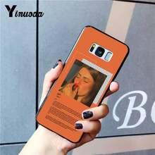 Yinuoda цветочный винтажный Летний чехол для телефона с великолепным художественным принтом Для SamsungGalaxy Sedge S6edge plus S10 S8 S7 S9 Plus(Китай)