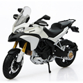 DMH MULTISTRADA 1200S White 1 12 scale Alloy metal diecast models motor bike miniature race Toy