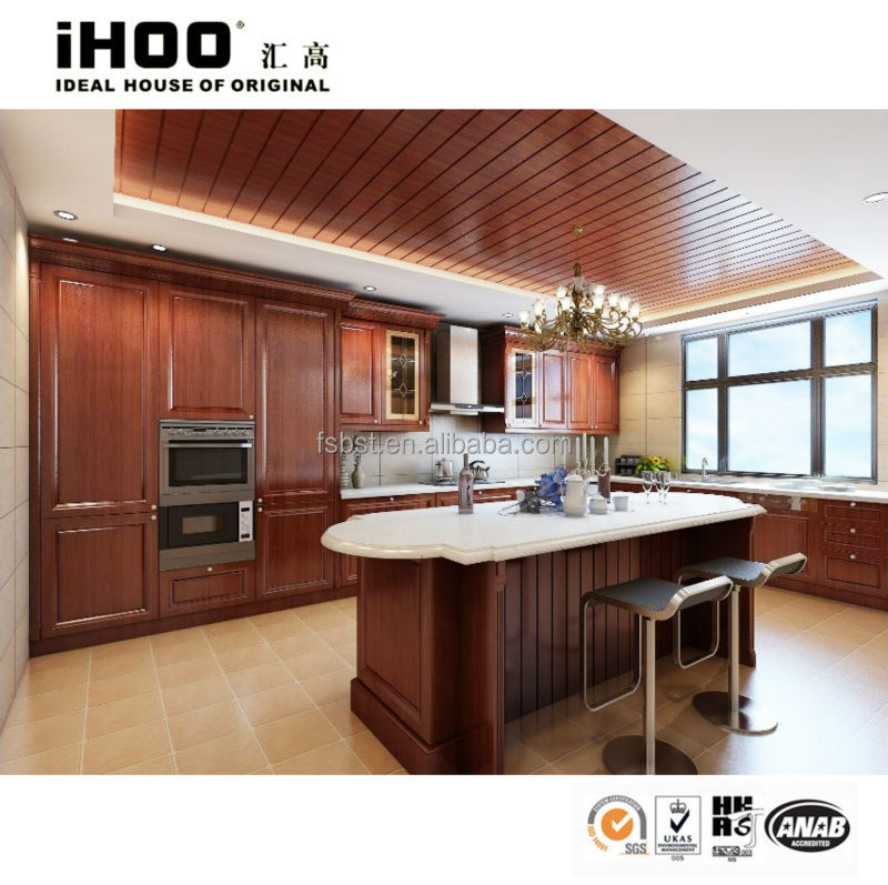 High End Kitchen Cabinets: Top Quality!!! Cherry Wood Door High End Kitchen Cabinets
