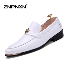 15 Fashion Flats Men Formal Shoes Casual PU Leather Men Flats Oxfords Shoes For Men Loafers Casual Man Moccasin Sapato Masculino