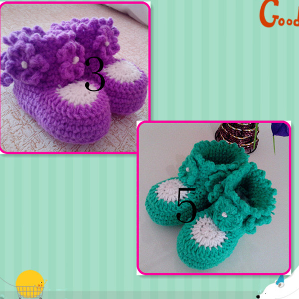 6377b10cbfab3a Crochet Baby Sandals Pattern Pinterest