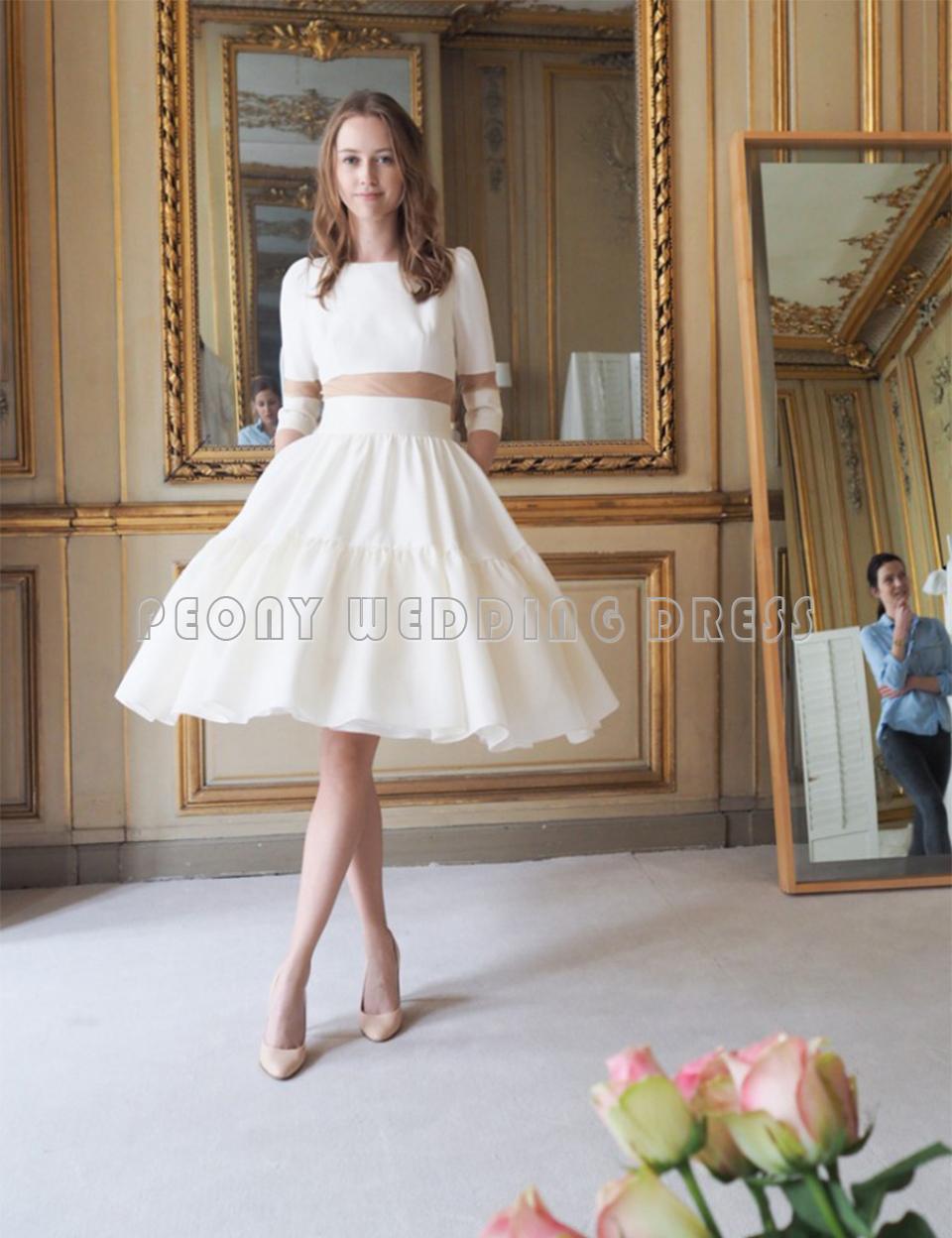 50354ee659 Short Ball Gown Wedding Dresses