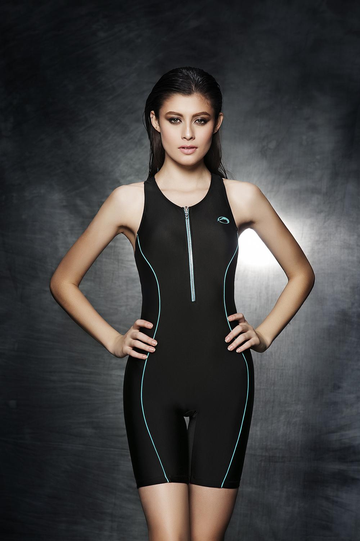 2016 New listing Long legs sleeveless swimsuit bodysuits