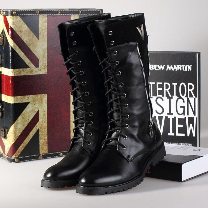 Long Combat Boots Bsrjc Boots