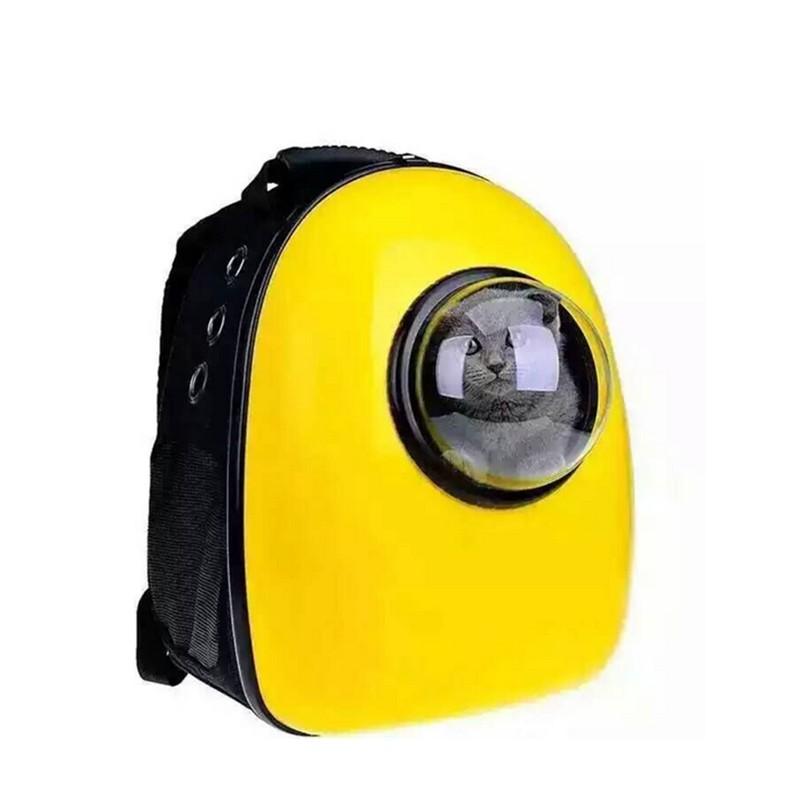 Space Capsule Shaped Pet Carrier Breathable pet backpack PC pet <font><b>dog</b></font> outside Travel bag portable bag cat bags GP160429-3