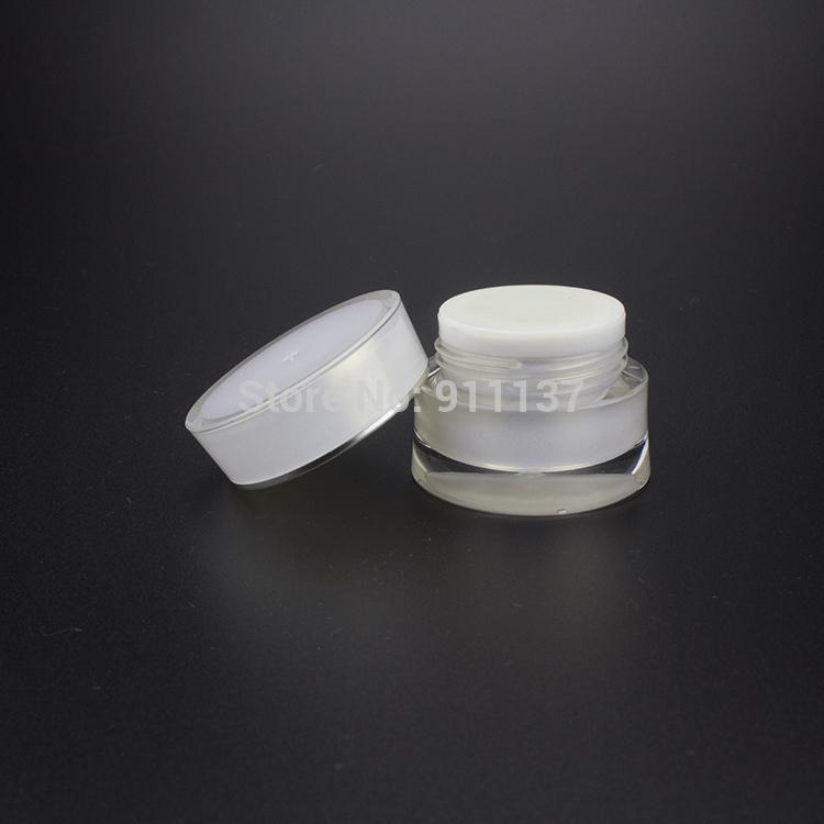 ja92 pearl white 5g plastic small cosmetic jars acrylic 5g vials wholesale 5ml small empty. Black Bedroom Furniture Sets. Home Design Ideas