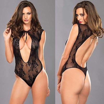 fadf19dde4 Women Sexy Lingerie Nightwear Underwear Sleepwear Lace BabyDoll Dress Plus  Size