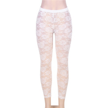 d6b98ec96289bf TE2081 Comeonlover brand High quality floral lace leggings new popular see  through white leggings hot sale