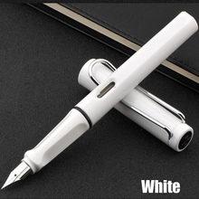 Металлическая перьевая ручка Al Star, классический дизайн, хорошее качество, Роскошный деловой подарок, ручка для письма, 2 ручки, подарок(Китай)