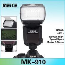 TTL 1/8000s HSS Meike MK-910 Flash Speedlite for Nikon SB910 SB900 D7100 D7000 D800 D600 VS Yongnuo YN-568ex ii