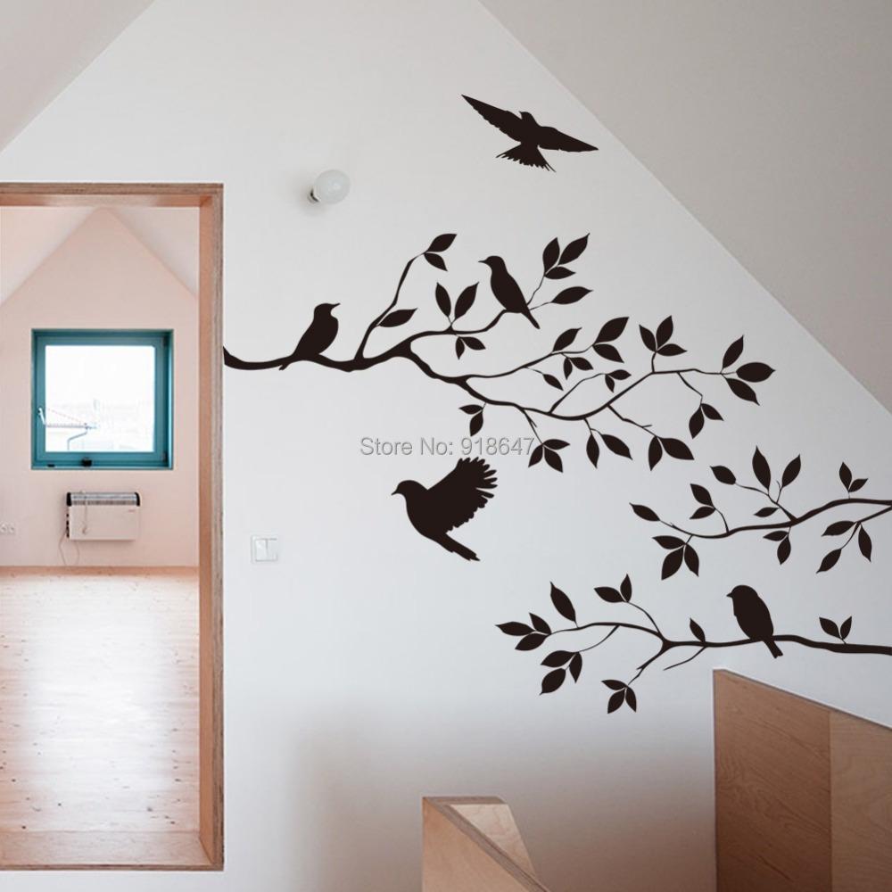 sticker mural. Black Bedroom Furniture Sets. Home Design Ideas