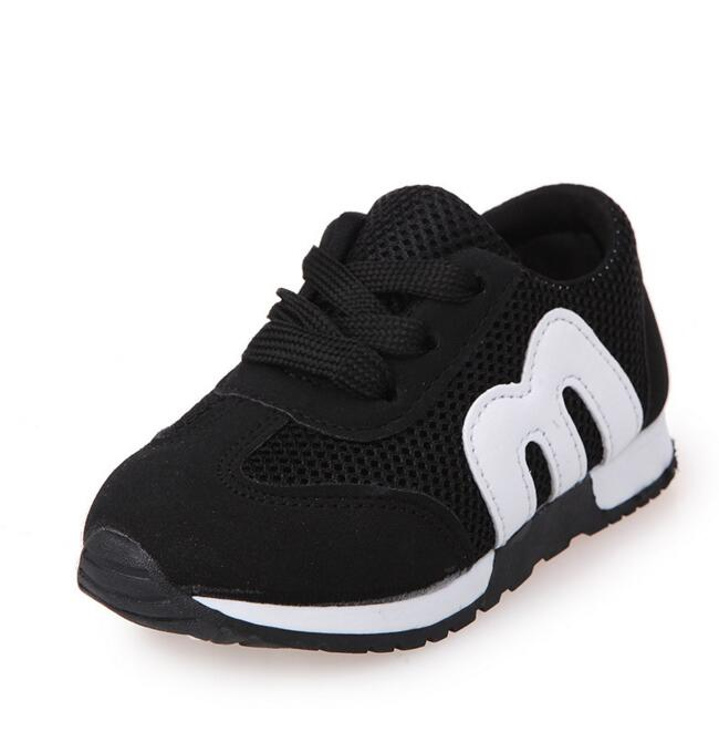 Hot New 2016 Children Sneakers Fashion Kids Shoes Boys Girls Shoes Sport Running Shoes Baby Canvas