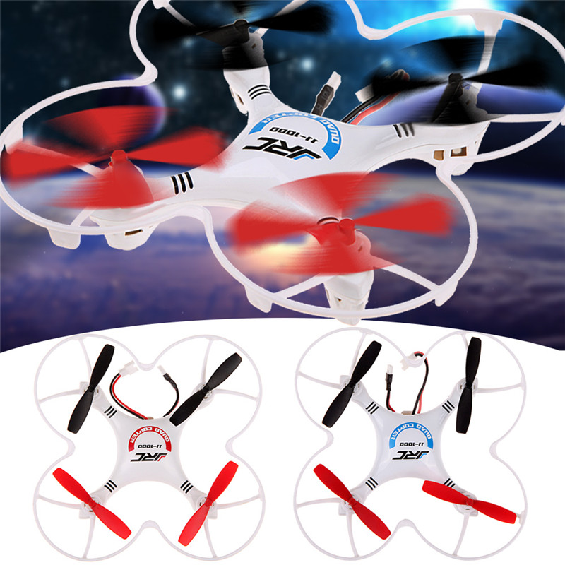 New Brand  LCD RC Quadcopter With LED RTF JJRC 1000A 2.4G 4CH 6 Axis Gyro High