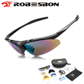 ROBESBON Polarized Cycling Bicycle Sunglasses Outdoor Sports MTB Road Bike Glasses Hiking Driving Fishing Goggles Eyewear