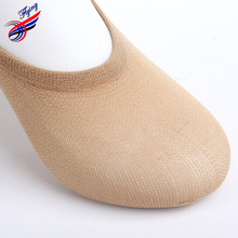 FLYING 2015 Spring New Arrival Women Slipper Socks Candy Color Polyester Thin No Show Socks Cool