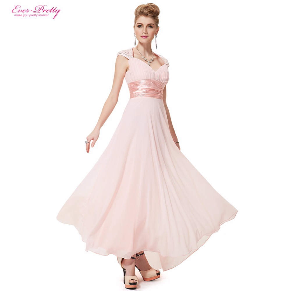 Evening Dress Ever Pretty HE09672 Sexy V Neck Sequins Chiffon Summer Style Prom Gown 2016 Formal