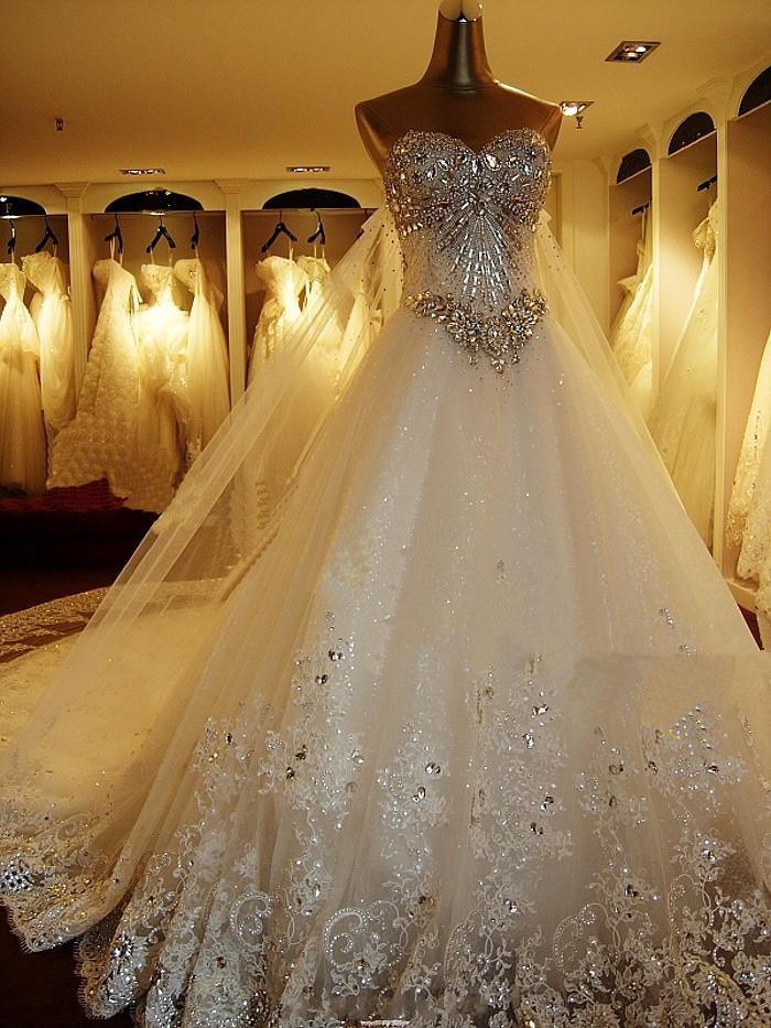 Diamond Wedding Dress