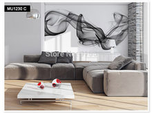 Настенные обои на заказ, современные дымовые тучки, абстрактная живопись, большая настенная живопись, для спальни, гостиной, дивана, ТВ, фото...(Китай)