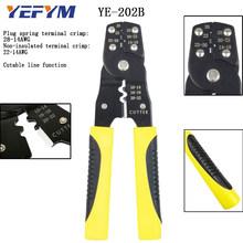Многофункциональные плоскогубцы YE-1 клещи для снятия изоляции обжимной вывод автоматические плоскогубцы для электроники саморегулирующие...(Китай)