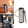 Hot sale Survival Camping Emergency Fire Starter Flint Match Lighter With KeyChain free shipping