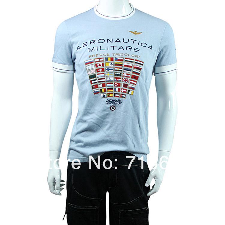 Aeronautica Militare מזדמן חולצת גברים חולצה,S/M/L/XL/XXL חולצות,בגדים,דגל המדינה צמרות משלוח חינם