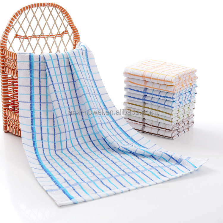 Kitchen Towels Bulk: White Cotton Waffle Weave Kitchen Towels Bulk