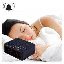 MX – 017 Wireless Mini Clock Alarm Speaker Bluetooth V2.1 Speaker with LED Time Display FM Radio TF Reader Hands Free Amplifier