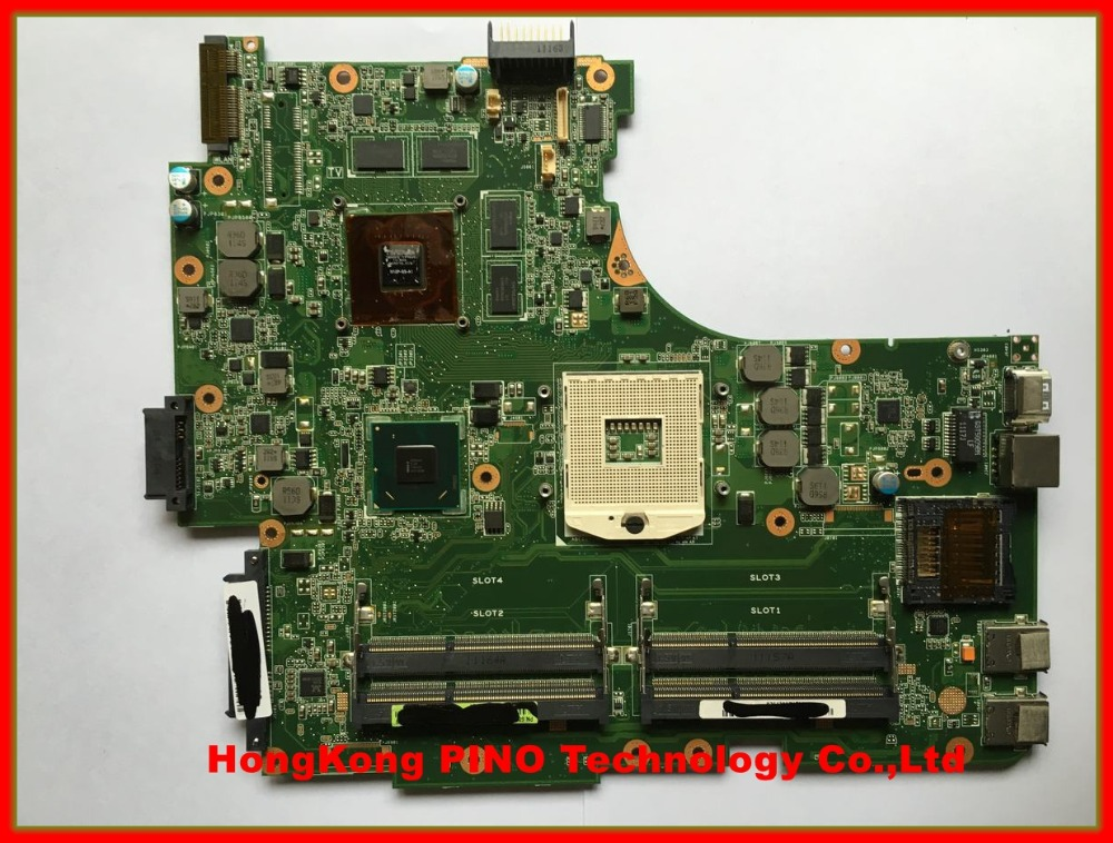 Free shipping N53SV motherboard for Asus N53SN N53SM laptop motherboard 1G 2G optional nvidia GT540M 4RAM