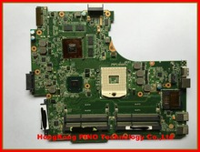 Free shipping N53SV motherboard for Asus N53SN N53SM laptop motherboard 1G 2G (optional) nvidia GT540M 4RAM slots Rev 2.0 2.2