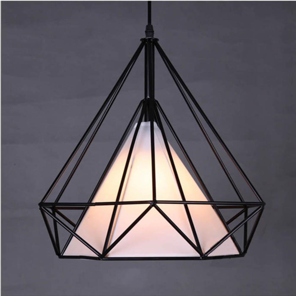 Modern Novelty Innovative Pendant Lamp Wrought Iron Cage