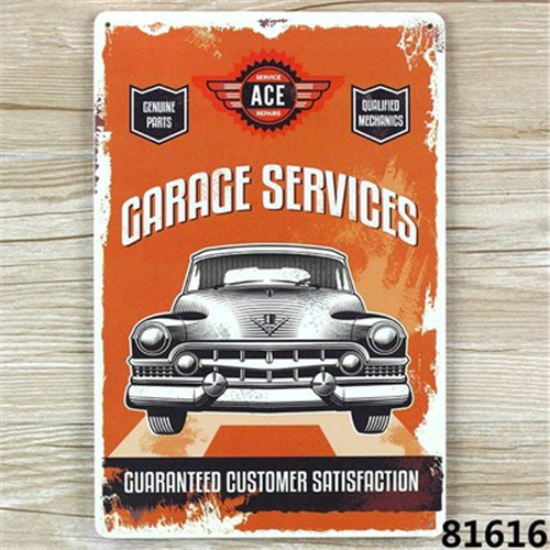 New 2015 20x30cm metal Tin signs about car Retro home decoration House Cafe bar Vintage Metal Painting   A1455