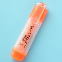 7 цветов водный маркер конфетная цветная флуоресцентная ручка для рисования Kawaii корейские офисные канцелярские школьные принадлежности(Китай)
