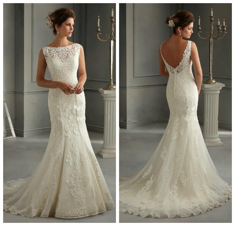Buy Berta Bridal 2015 Sexy Mermaid Wedding Dresses V Neck ...