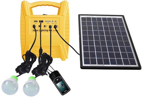 10w Portable Off Grid Small Solar Power System For Home