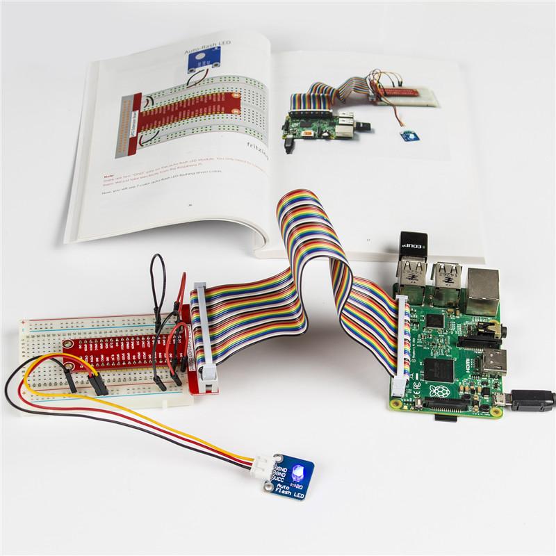 37 Modules in 1 BOX Sensor Kit V2 0 for Raspberry Pi 3 2 and RPi 1