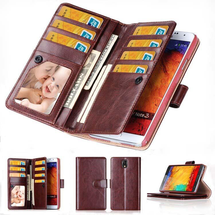 note 3 case multi function wallet for samsung galaxy note 3 case pu leather for galaxy note 3. Black Bedroom Furniture Sets. Home Design Ideas
