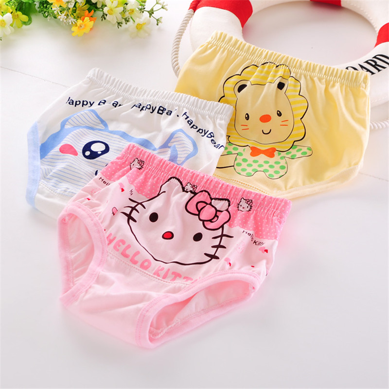 2016 New Arrival Kids Panties Boys Fashion Cotton Cartoon Baby Briefs Boxers Children Underwear Lot Calcinha