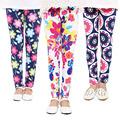 Girl Pants New Arrival Printing Flower Girls Leggings Toddler Classic Leggings 2 14Ybaby girls leggings kids
