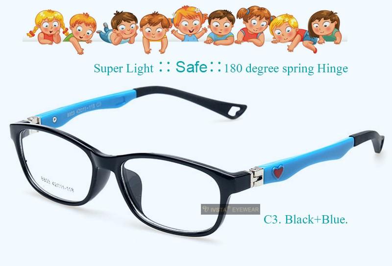 164289363b Wholesale- IVSTA 8803 45-11-126 TR Safe Kids Eyewear Glasses Frame ...