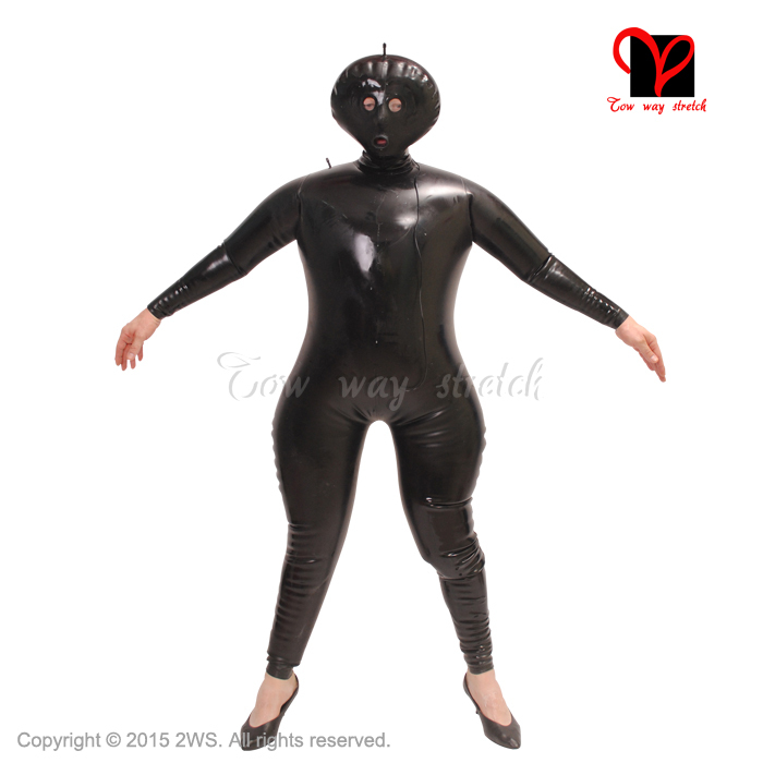 Latex Catsuit Inflatable 69