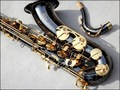 French Selmer 54 B Tenor Saxophone Top Musical Instrument Saxe Wear resistant PlBlack Nickel ated Gold