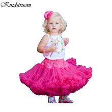 2016 Trend Tutu Skirts for Girls European American Style Pincess Baby Skirt Children Ruched Casual Summer