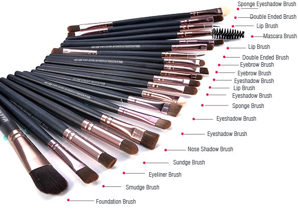 Diffe Makeup Brushes And Their Uses Makeup Vidalondon
