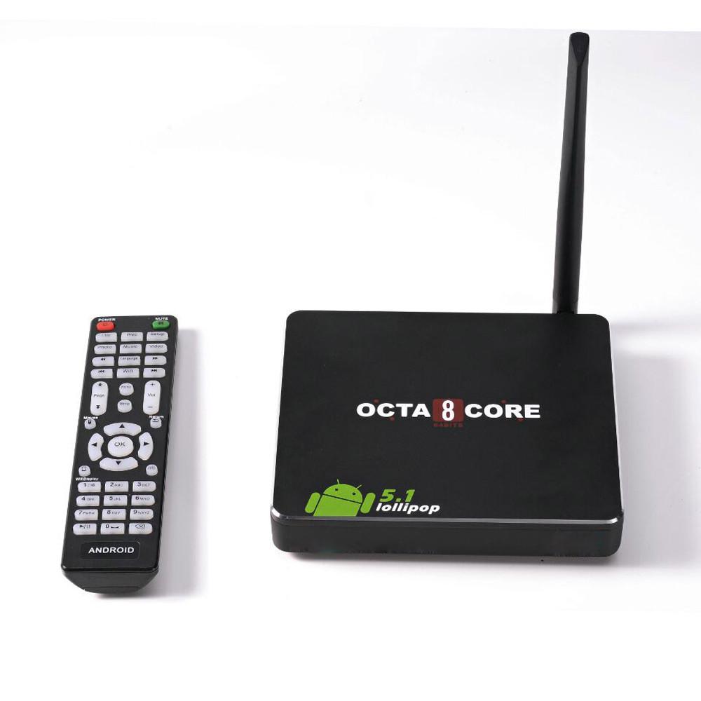 CSA90 Smart TV Box Android 5.1 RK3368 Cortex-A53 Octa Core 64bit