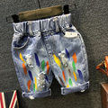 New 2016 Summer Baby Boys Hole Denim Shorts 2 7Yrs Children Clothing Kids Pants Fashion Kids