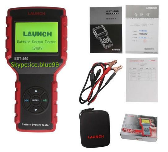Авто батарея цифровой тестер аккумулятора BST-460 подходит для 6 В и 12 В системы батарей и 12 В и 24 В начиная и системы зарядки обнаруживает