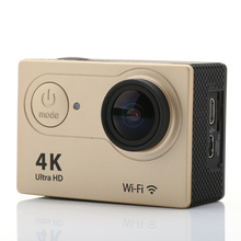 Mini Action Camera H9 Ultra HD 4K Video 170 Degrees Wide Angle Lens Sports Camera 2-inch Screen 1080P Full-HD 60fps Helmet Cam